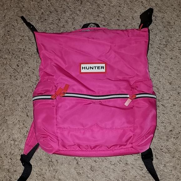 Hunter Handbags - Hunter Original Mini Top Clip Backpack Bright Pink